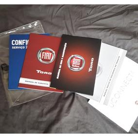 Manual Proprietário Fiat Toro 2018 C/suplementos E Em Branco