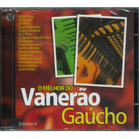 Cd O Melhor Do Vanerão Gaúcho Volume 4