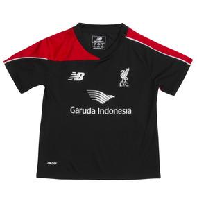 2015-2016 Liverpool Bebés Camiseta De Entrenamiento (negro) 951ff1dc5b078