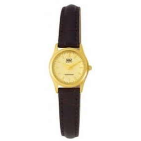 1169abdf214 Relógio Feminino Q Q Couro Preto Q671j304y - Relógios De Pulso no ...