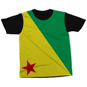 Camiseta Acre Estado Brasil Bandeira Símbolo Blusa Camisa. R  89 2a11f64c352ec