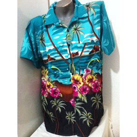 Camisa Havaiana Masculina Importada Kit C/ 2 Unidades