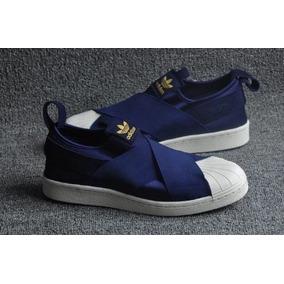 a32cac0cfc5 Slip On Adidas - Adidas Azul escuro no Mercado Livre Brasil