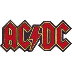 Acdc Parche Bordado Rock Bandas Musica