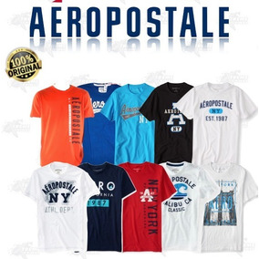 Paquete 10 Playeras Aeropostale Hombre Original Xtrm P