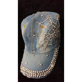 Boné Jeans Feminino Pedraria Importado Lindo Pronta Entrega. R  69 89 a740062b47c