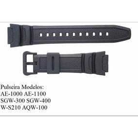 0f1bc9e43ac Pulseira Relogio Casio W S200h - Relógios no Mercado Livre Brasil