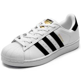 d4d546f4c8e Tênis Mulheres homens adidas Superstar 100% Original Couro