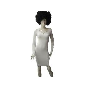 Bonito Vestido Para Dama Blanco