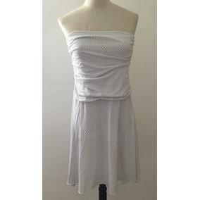 Vestido Corto Rayado Negro Y Blanco - Vestidos bcafbed1940c