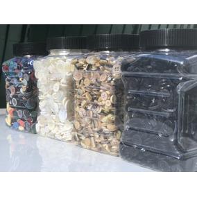 1 Kilo De Botones Negros Para Ropa Textiles