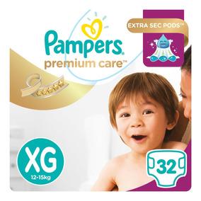 Fralda Pampers Premium Care Mega - Xg 32 Tiras