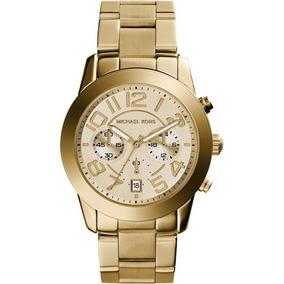 Relógio Feminino Michael Kors Dourado Gold Mk5726 Original
