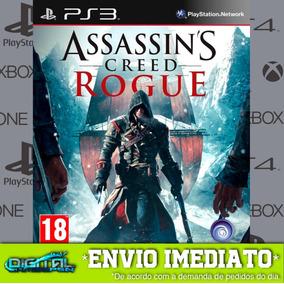 Assassins Creed Rogue Ps3 Psn Jogo Digital Envio 10 Min