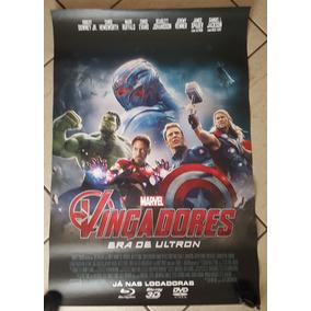 Pôster Cartaz Vingadores - Era De Ultron 93x63 Cm
