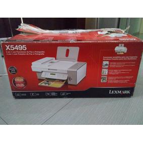Impresora Lexmark X5495. Sin Cartuchos.