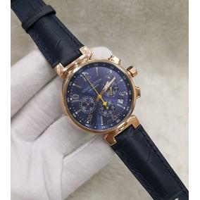 7752149171a Relogio Louis Vuitton Fundo Branco Couro Lvt05 Feminino - Relógios ...