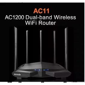 Tenda Ac11 1200 1wan + Wi-fi Router + 3lan