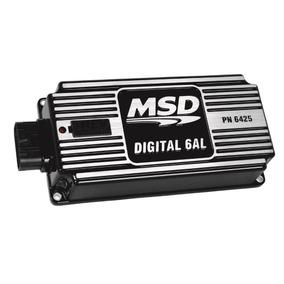 Modulo De Ignição Msd 6 Al Digital Preto 4, 6 Ou 8 Cilindros