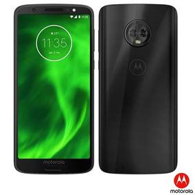 Celular Moto G6 Preto Motorola Tela 5,7 4g 64gb Xt19253