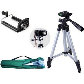 Tripé Universal Fotográfico Canon Nikon 1,80 Mts + Suporte