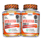 Kit 2x Vitamina D - Vit D3 2000ui Clinical - Profit Labs