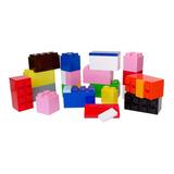 Bloques Plásticos Kit Surtido 28 Piezas - Ladrillos Gigantes