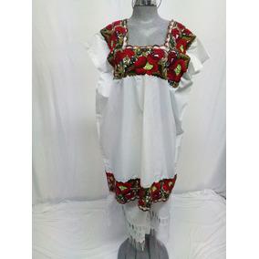 Vestido Terno Yucateco Artesanal. La Segunda Bazar d405c42d496