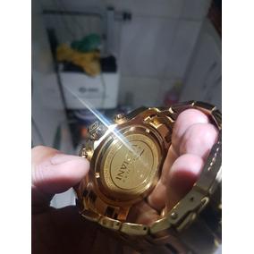 de0ac6a2f30 Relogio Invicta 0074 Pro Drive Original Banhado Ouro 18k - Relógios ...