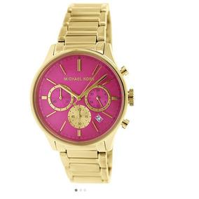 Relogio Fundo Rosa Michael Kors - Relógios De Pulso no Mercado Livre ... abc2fb3792