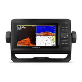 Gps Com Sonar Garmin Echomap 62cv C/ Transducer Clearvü 500w