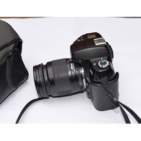 Camera Fotográfica Nikon F60, Analógica Com Zoom