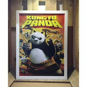 Poster Kung Fu Panda Quadro Decorativo