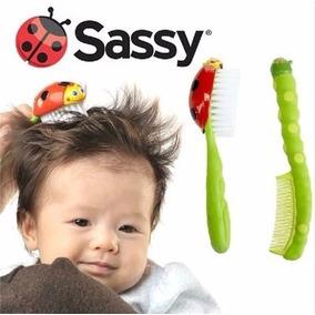 Combo De Peine Y Cepillo Para Bebés - Sassy