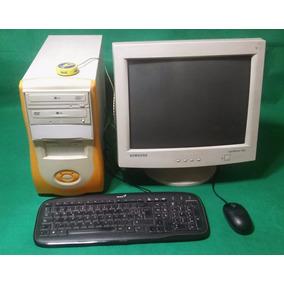 Pc Duron Usada Con Monitor 17 Pulgadas