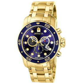 Relógio Invicta Pro Diver 48mm Fundo Azul Importado Do E.u.a
