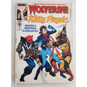 Lote Minissérie Wolverine E Kitty Pryde Completa