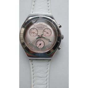 6a8700daad0 Relógio Suíço Swatch Feminino Irony Cronógrafo