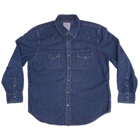 8c88c16fd8 Camisas Vaqueras Para Hombre - Camisas Manga Larga de Hombre Azul ...