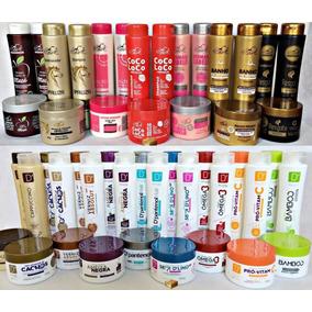 Shampoo + Condicionador + Máscara 15 Produtos Atacado! Ref3