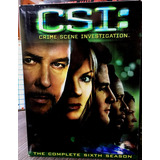Csi: The Complete Sixth Season (temporada 6) 7 Dvds (2006)