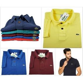 Kit 5 Camisas Polo - Pólos Manga Curta Masculinas no Mercado Livre ... c88bde406d7ab