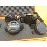 Cámara Fotográfica Profesional Olympus E420
