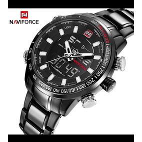 Cor  Chumbo Masculino - Relógios De Pulso no Mercado Livre Brasil 104678a7c0