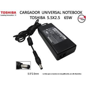 Cargador Universal Notebook Toshiba 5.5x2.5 65w