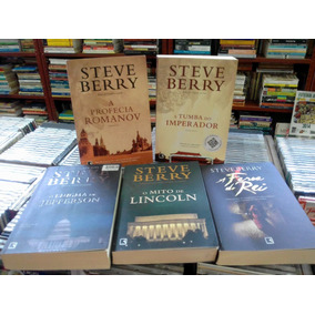 Steve Berry 5 Livros Varios Titulos