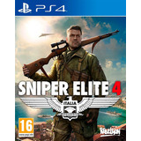 Sniper Elite 4 Italia / Juego Físico / Ps4