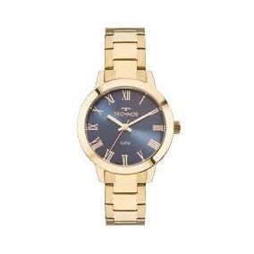 15fbb3e1532 Relogio Technos Fundo Azul - Joias e Relógios no Mercado Livre Brasil