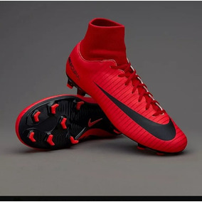 Botin Nike Mercurial Botita Roja - Botines en Mercado Libre Argentina 306d3cfda78ca