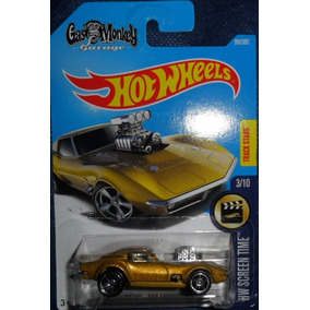 Hot Wheels - Screen Time - 68 Corvette - Gas Monkey Garage